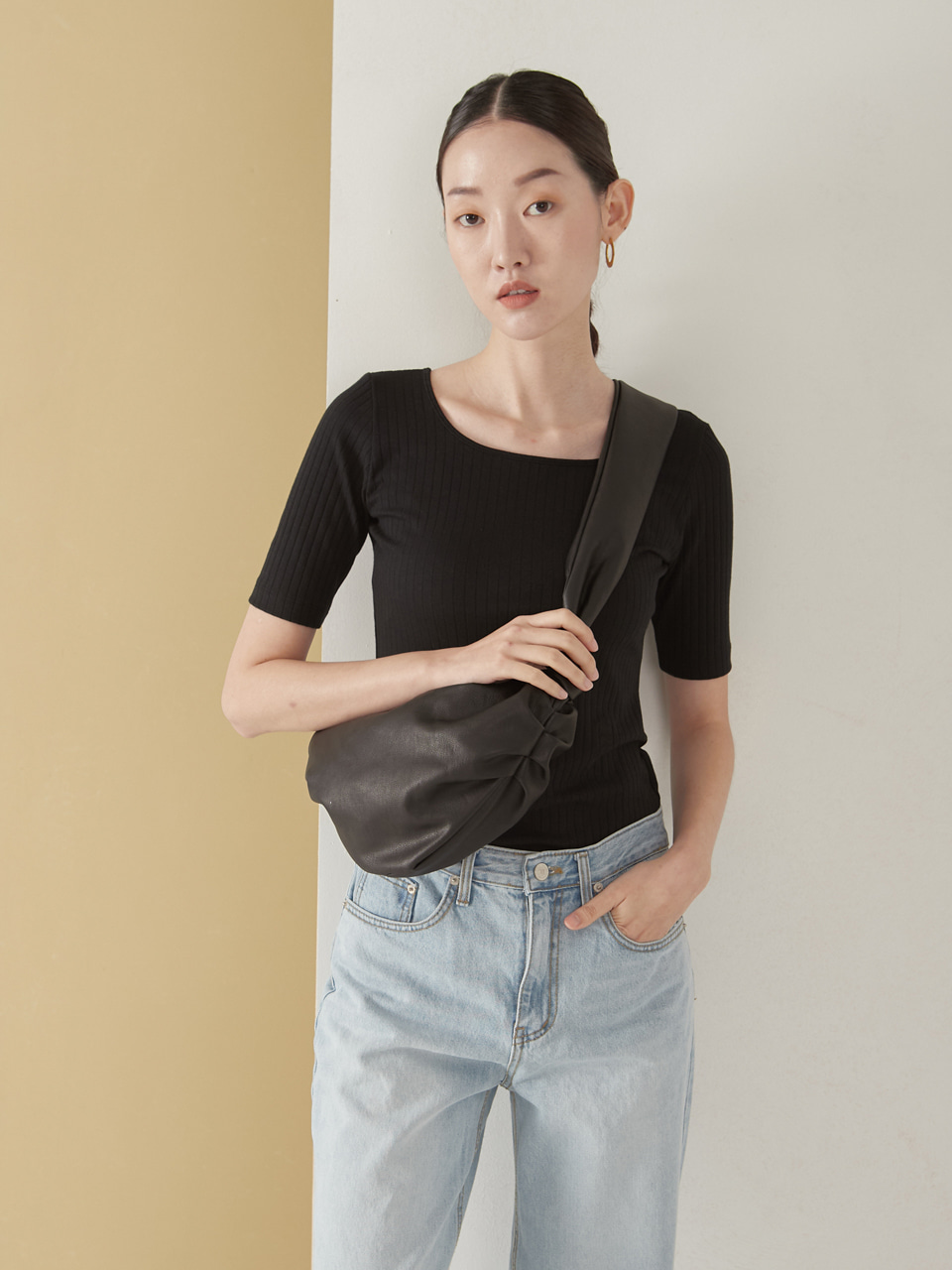 Dumpling mini bag_black