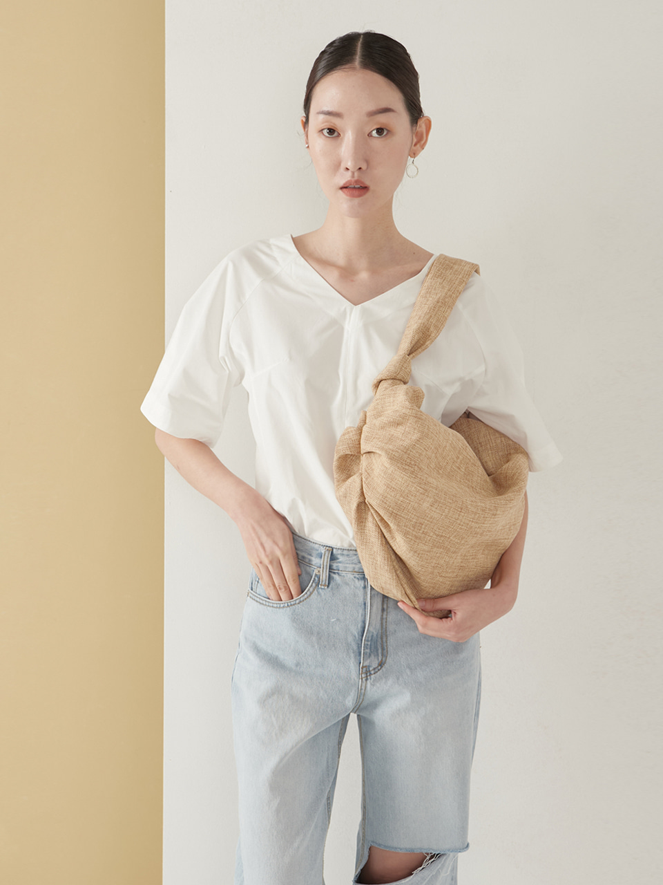 Dmpling bag_natural beige