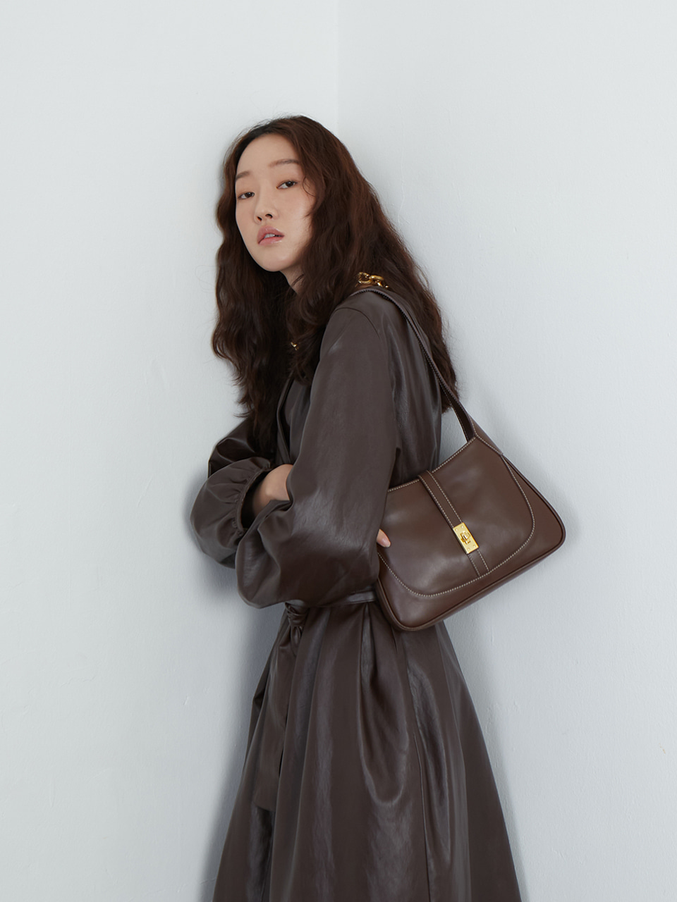 Nicola bag_brown(~3/4예약배송)